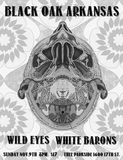 Black Oak Arkansas, Wild Eyes, The White Barons