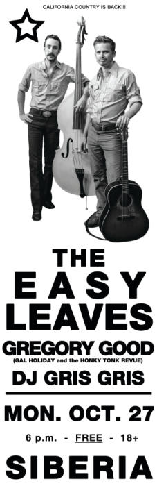 The Easy Leaves | Gregory Good | DJ Gris Gris