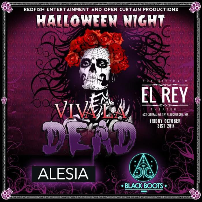 VIVA LA DEAD 2014 feat ALESIA & BLACK BOOTS - Halloween Night at El Rey Theater | 21+