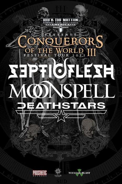 SEPTICFLESH, Moonspell, Deathstars