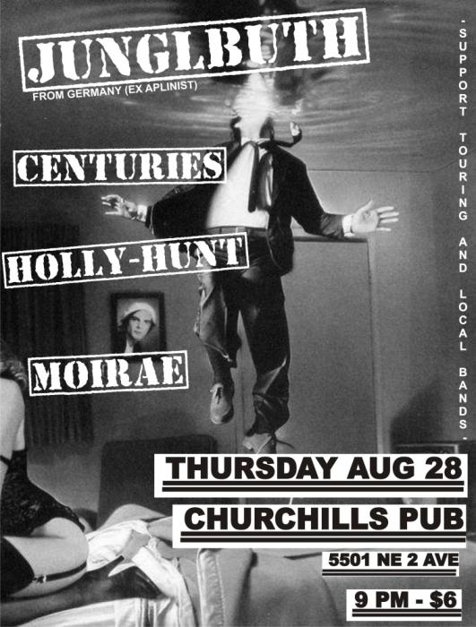 Junglbuth, Centuries, Holly Hunt, & Moirae