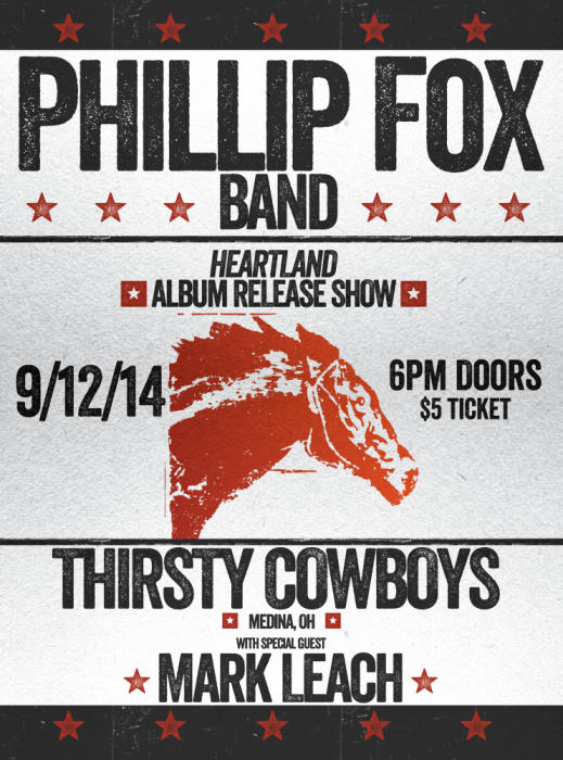 Phillip Fox Band Album Release Party