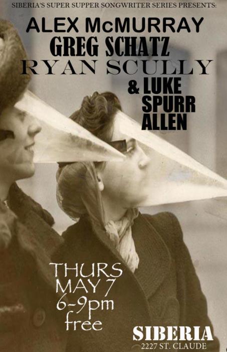 Alex McMurray | Luke Allen | Ryan Scully | Greg Schatz