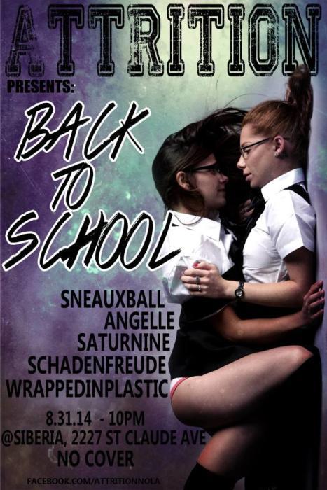 Attrition: Back To School 2 - Goth/Ind Night
