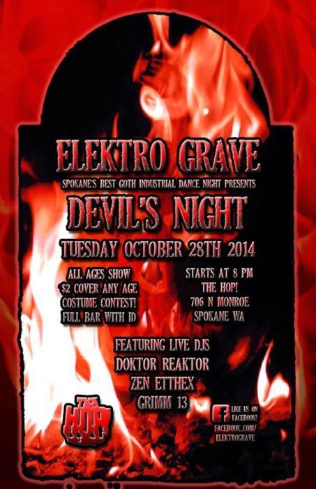 """Elektro Grave, """"Devil"""