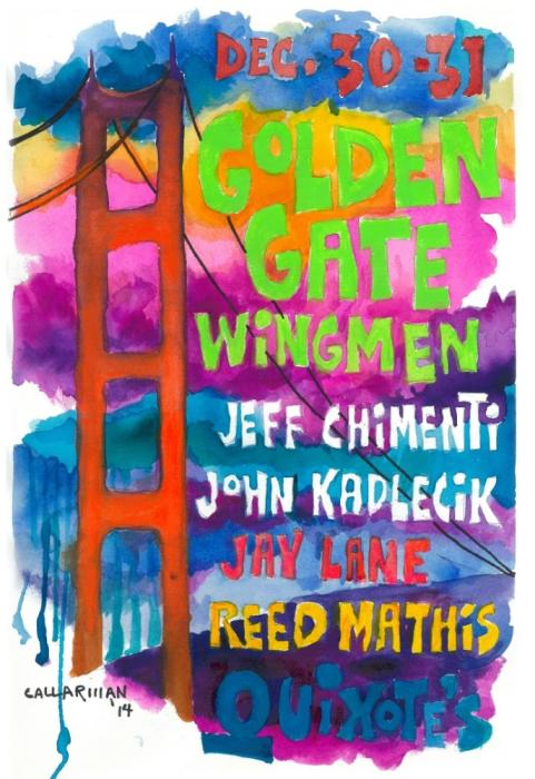 Golden Gate Wingmen feat Jeff Chimenti / John Kadlecik / Jay Lane / Reed Mathis