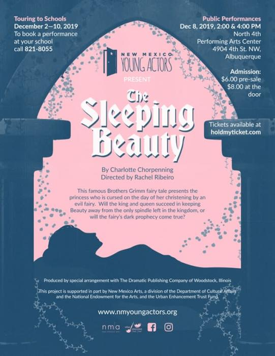 The Sleeping Beauty By Charlotte Chorpenning Vsa North 4th Art Center Albuquerque Nm December 8th 2019 2 00 Pm