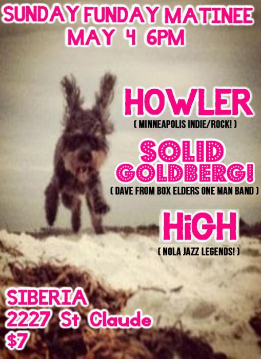 Howler | Solid Goldberg! | HiGH