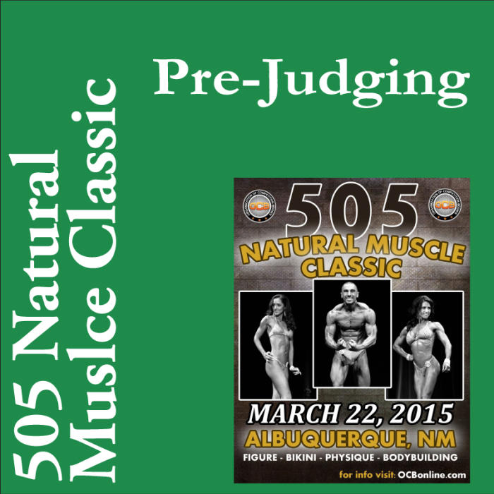 505 Natural Muscle Classic: 11:00am