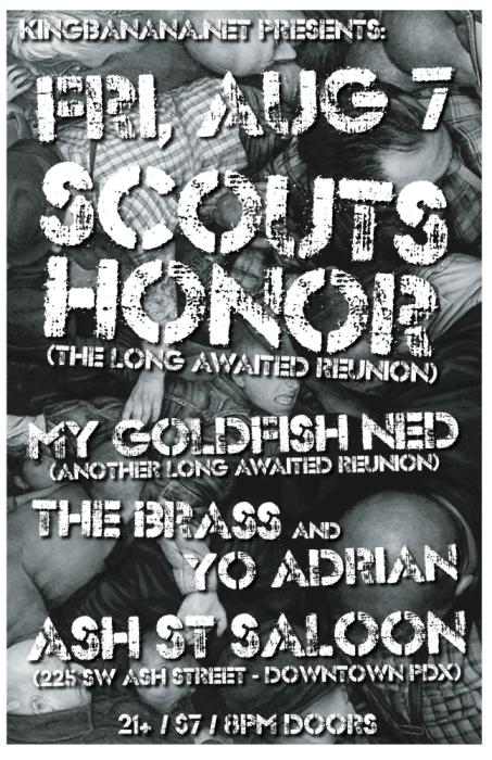 SCOUTS HONOR REUNIONS SHOW!