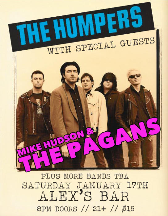 THE HUMPERS, THE PAGANS, & SPECIAL GUESTS