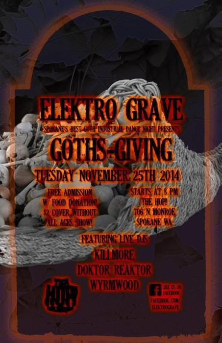 "Elektro Grave, ""Goths-Giving"""