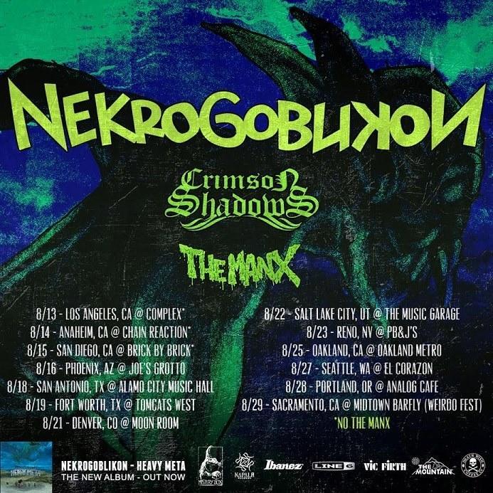 NEKROGOBLIKON, Crimson Shadows, The Manx