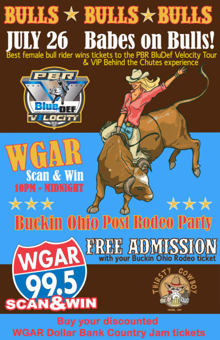PBR Ticket Give Away