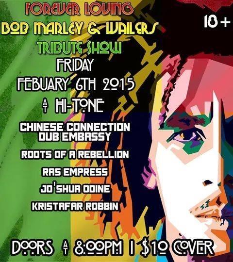 CCDE Bob Marley and Peter Tosh Reggae Celebration show