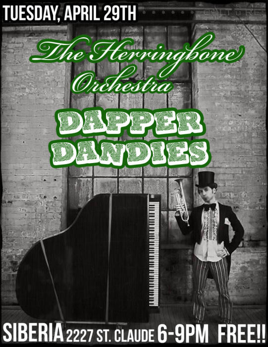 The Herringbone Orchestra with Dapper Dandies