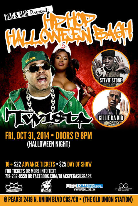 Hip Hop Halloweeen Bash