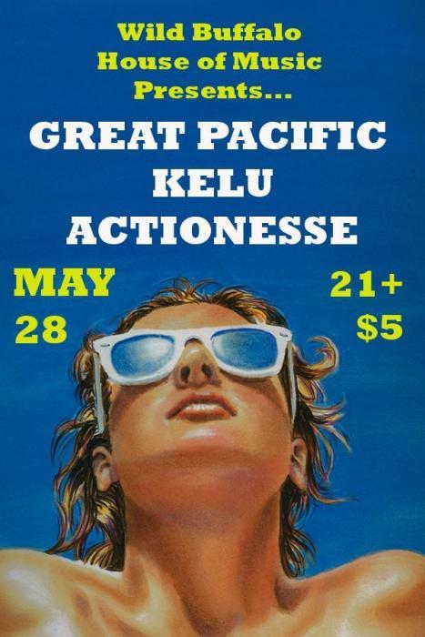 Great Pacific, Kelu, Actionesse