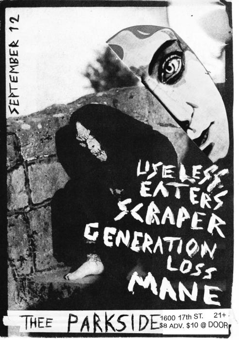 Useless Eaters, Scraper, Mane, Generation Loss