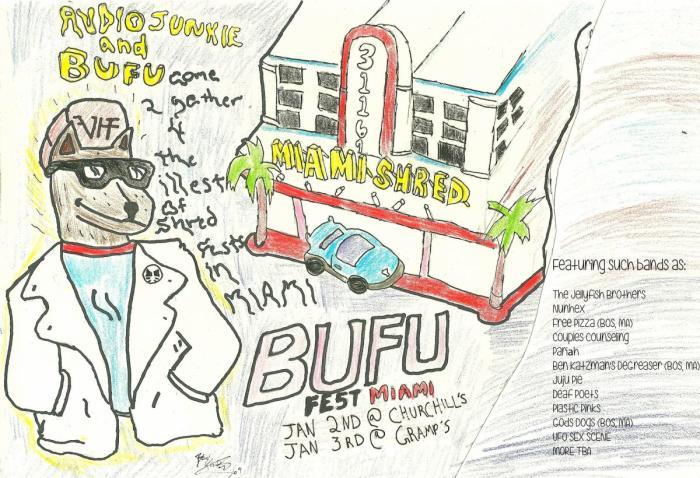 BUFU FEST MIAMI presented w/ Audio Junkie