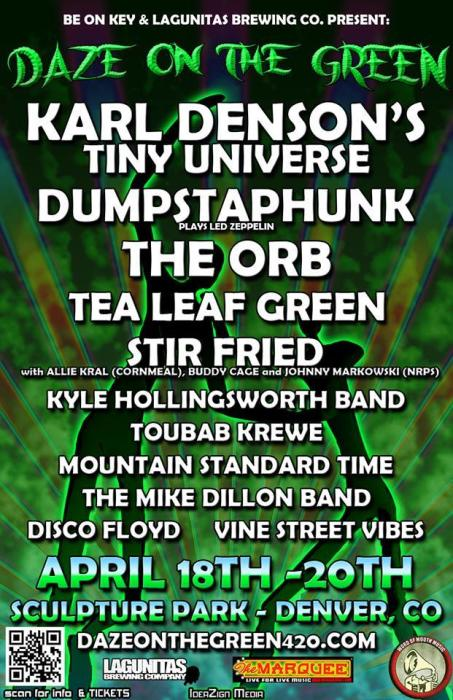 Daze On the Green -- 420 Celebration --3 day PASS