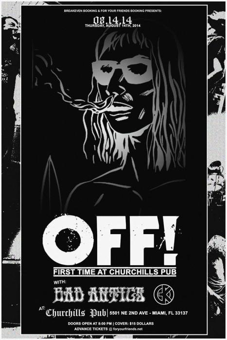OFF! (First time at Churchill