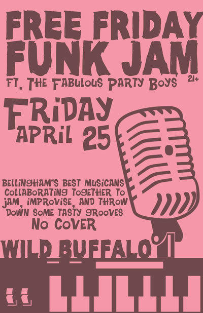 Free Friday Funk Jam ft. The Fabulous Party Boys