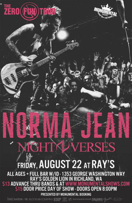 Norma Jean in Tri Cities