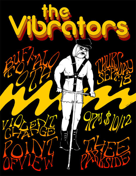 The Vibrators, Buffalo Tooth, Point Of View, Violent Change,