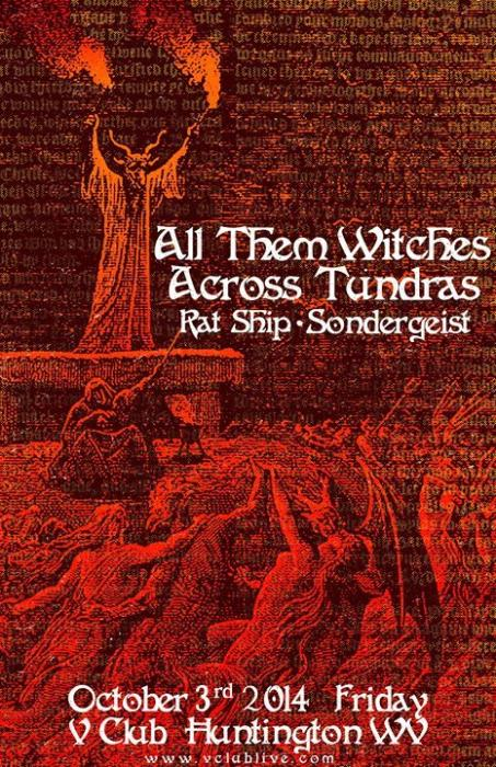 All Them Witches / Across Tundras / Rat Ship / Sondergeist