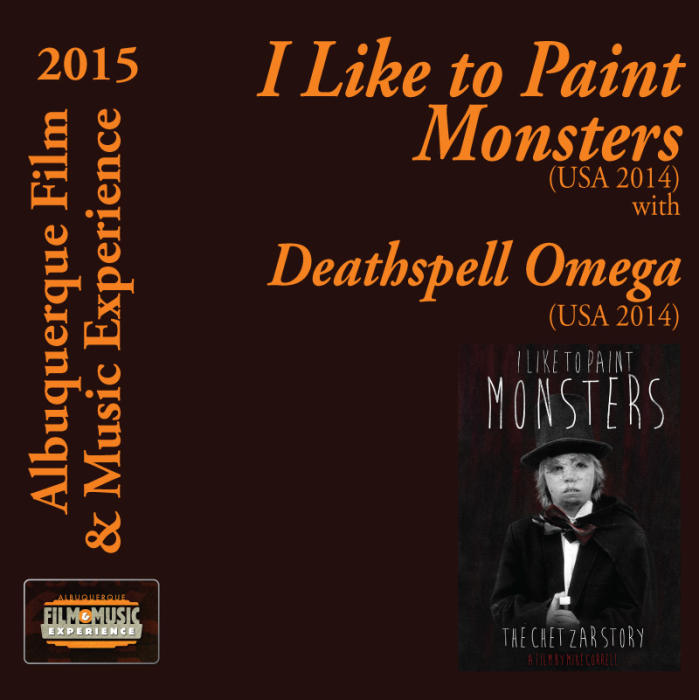 I Like to Paint Monsters (USA 2014) With Deathspell Omega (USA 2014)