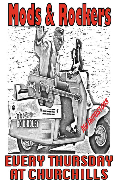 MODS AND ROCKERS | EVERY THURSDAY | BANDS & DJS