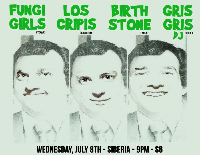 Fungi Girls | Los Cripis | Birthstone | DJ Gris Gris
