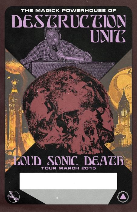 Destruction Unit // Ex-Cult // Gimp Teeth + DJs