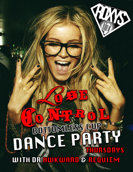 """Lose Control"" Bottomless Cup Dance Party"