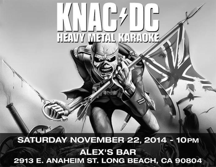 KNACDC- LIVE BAND METAL KARAOKE