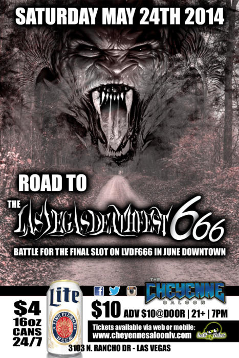 ROAD TO LAS VEGAS DEATH FEST 666