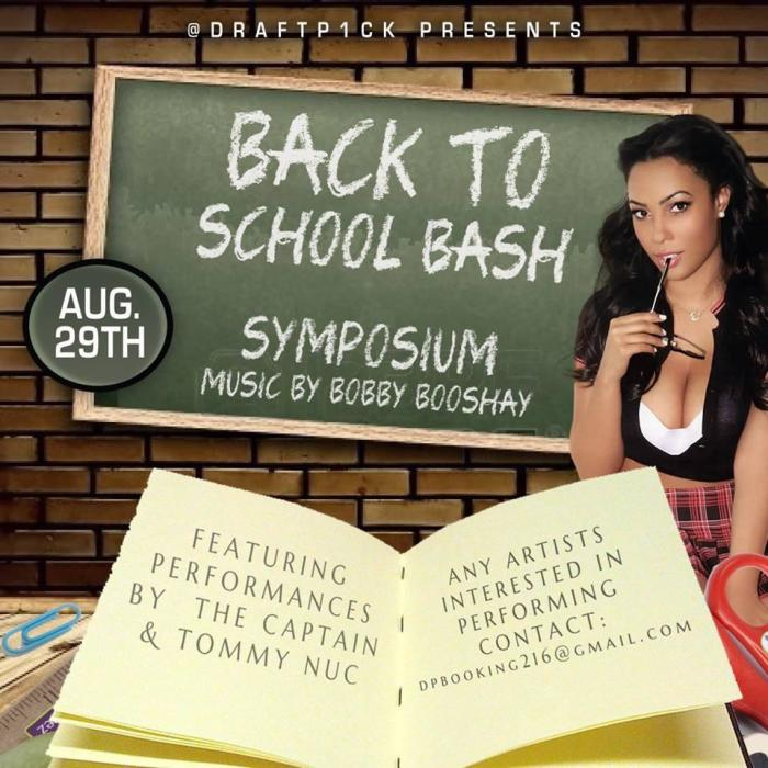 DRAFT P1CK PRESENTS.. BACK TO SCHOOL BASH