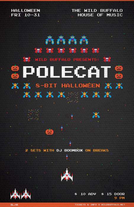 Polecat Halloween!