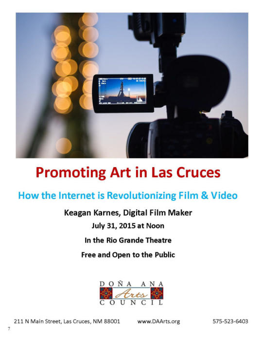 Promoting Art in Las Cruces