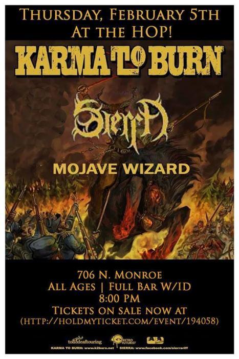 Karma to Burn, Sierra, Mojave Wizard, Blame Shifter