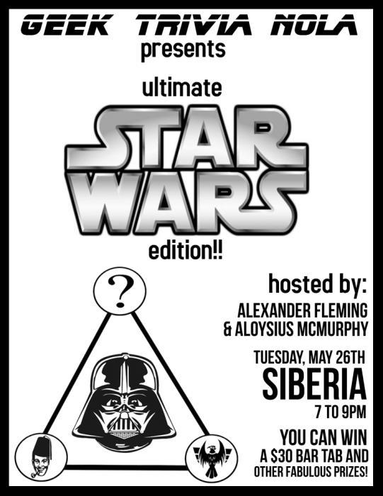 GEEK TRIVIA!! Ultimate Star Wars full Force universe!