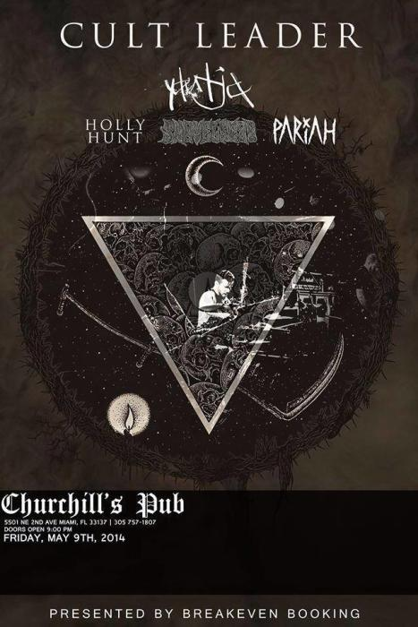 Breakeven Booking Presents Cult Leader, Yautja, Holly Hunt, Shovelhead, & Pariah
