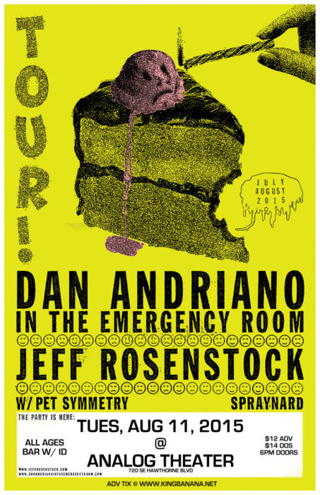 DAN ANDRIANO IN THE EMERGENCY ROOM / JEFF ROSENSTOCK