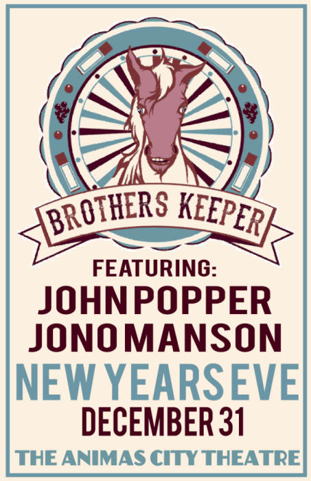 BROTHERS KEEPER WITH JOHN POPPER & JONO MANSON