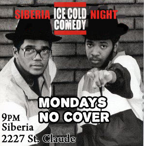 Ice Cold Comedy Night