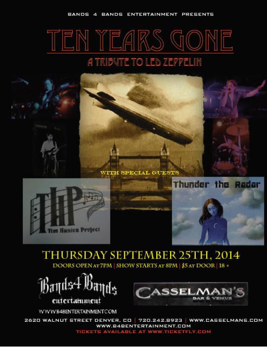 Ten Years Gone (A Tribute to Led Zeppelin)