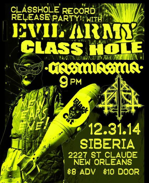 EVIL ARMY | CLASSHOLE (LP RELEASE!) | Gasmiasma | Six Pack