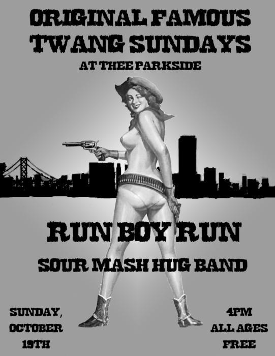 Run Boy Run, Sour Mash Hug Band