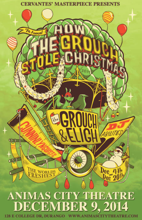 How The Grouch Stole Xmas Tour ft The Grouch & Eligh, Cunninlynguists & DJ Abilities